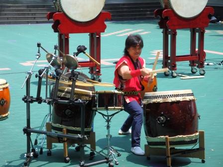 学校邦楽授業和太鼓演奏小学校で和太鼓演奏依頼、さいたま市