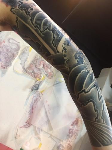 刺青 額 鯉