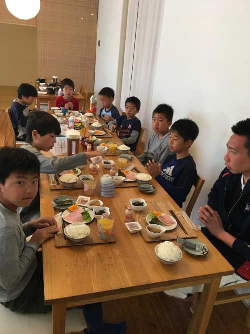 サッカー合宿4 日目