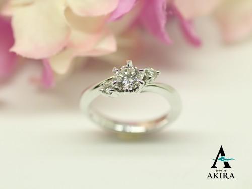 千葉市中央区のお客様から婚約指輪のリフォーム