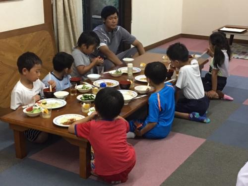 小学1年生2年生群馬サッカー合宿②