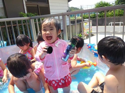 やったね!水遊びのはじまりはじまり!!
