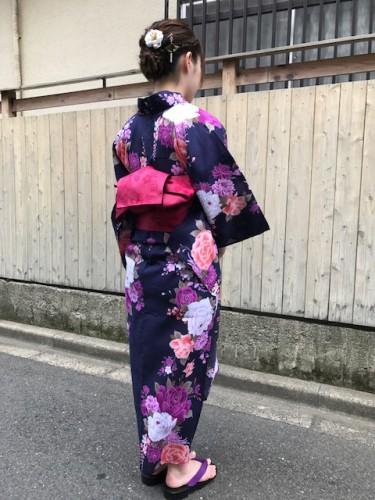 世田谷区南烏山の美容院YOUで浴衣を着て花火大会へ