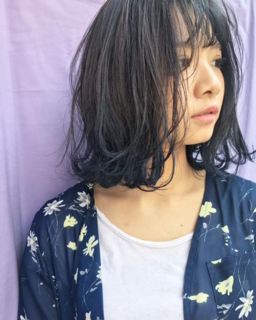 ブリーチのこりをキレイなブルージュカラーにTLONY渋谷
