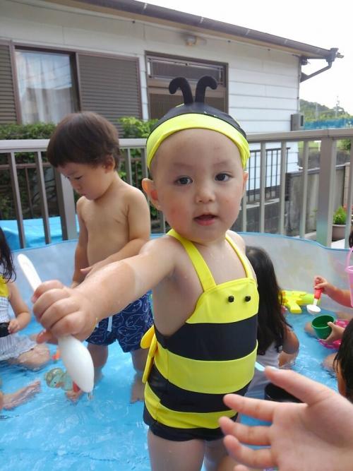 夏はやっぱり水遊び!おもしろ水着、楽し~い☆