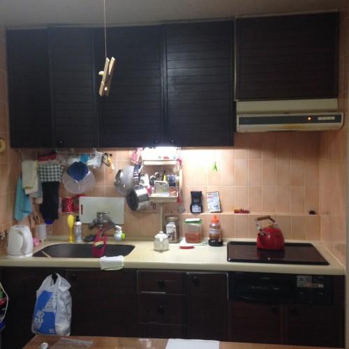 海老名市マンションでキッチンリフォーム。リクシルシエラ