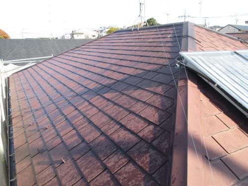 海老名市大谷北で屋根の塗装工事を行いました♪