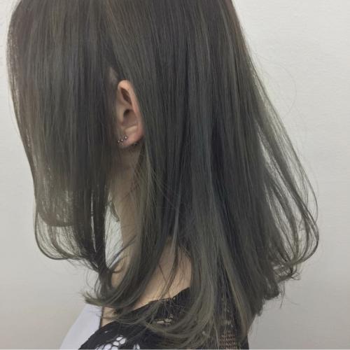 透け感グレー【TLONY渋谷】