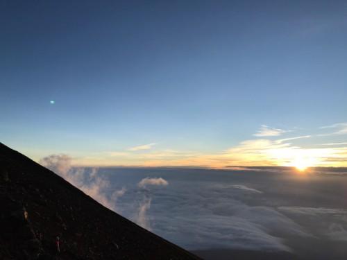 富士山に登ってきました!