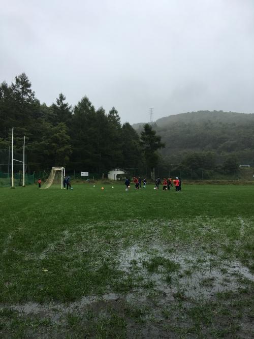 サッカー強化合宿2 日目