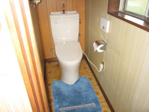 水漏れのご相談からトイレ交換工事へ 海老名市杉久保