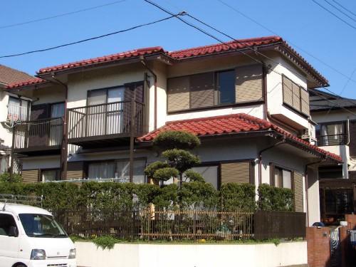 海老名市で屋根工事と外壁塗装