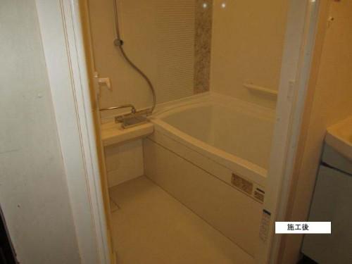 お風呂のリフォームでバリアフリー 綾瀬市