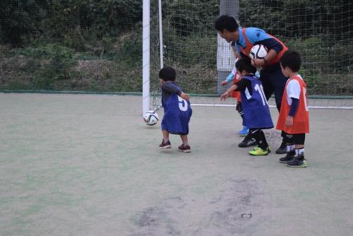 水戸市 幼児・園児向け サッカー