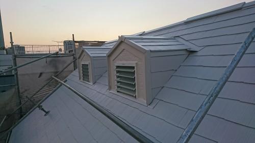 北新宿のアパート塗装 屋根を遮熱に
