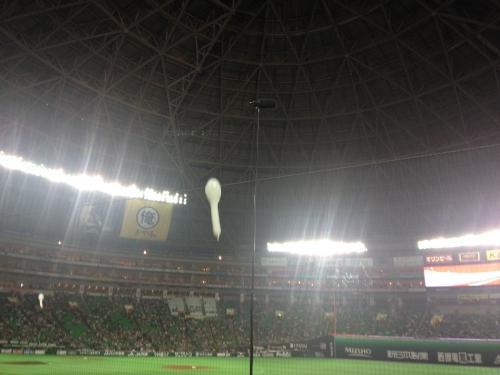 福岡ドームで野球観戦してきました。