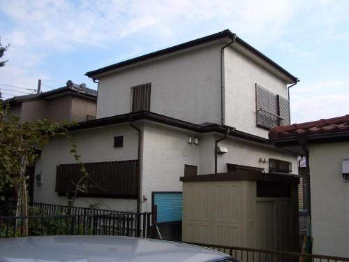 家のメンテナンス ヤネ・カベの塗装 海老名市