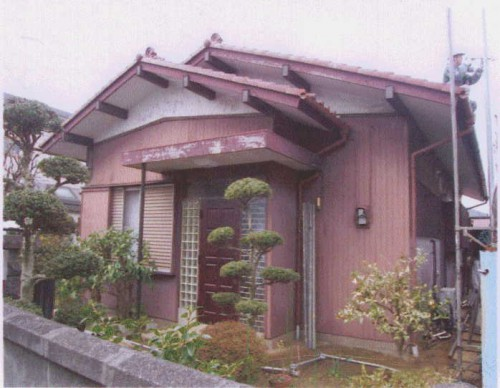 戸建ての平屋 木部の劣化で塗装工事 綾瀬市