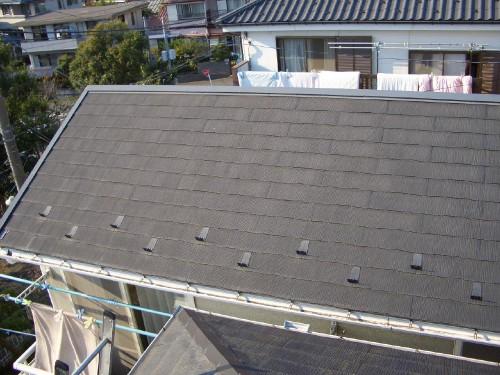 スレート屋根の塗装を遮熱塗料で 海老名市