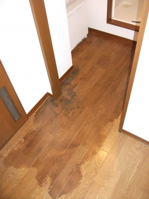 床下の漏水原因となりうること