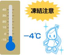 札幌市 水道凍結 最低気温