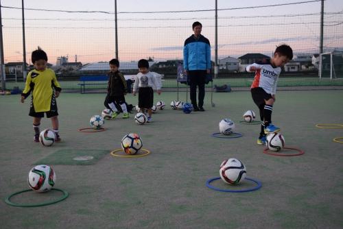 園児 サッカースクール