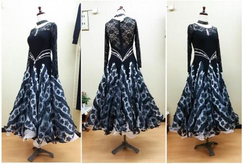 黒系ドレス