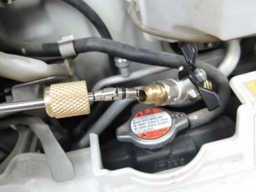 スズキDA52Tキャリィ車検と冬なのにエアコン修理