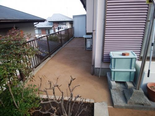 港南区で庭の模様替え。