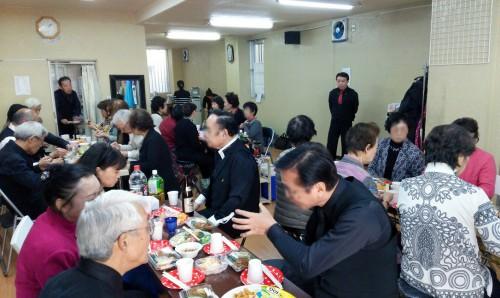 新春パーティー終了