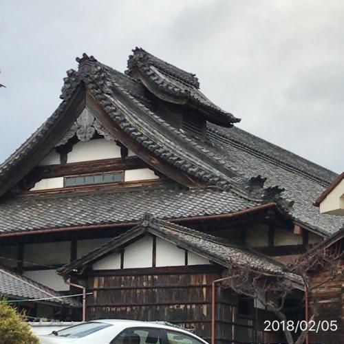 屋根の上に屋根名古屋鳴海