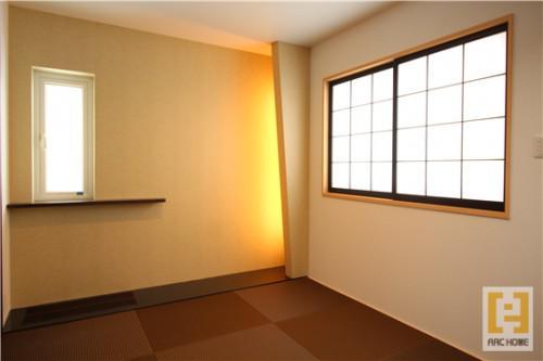 癒やしの空間「和室」を新築デザイナーズ住宅で実現