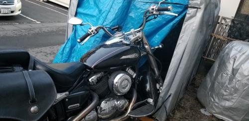水戸市にてバイクの鍵紛失の対応をしました。