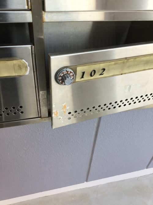 郵便ポスト鍵開け