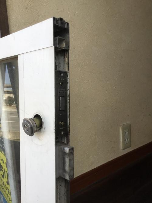 取手市にて自動アドの鍵修理しました