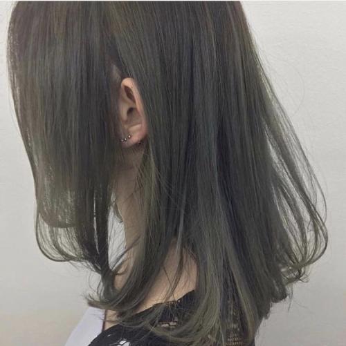 透明感抜群グレー系カラー TLONY渋谷