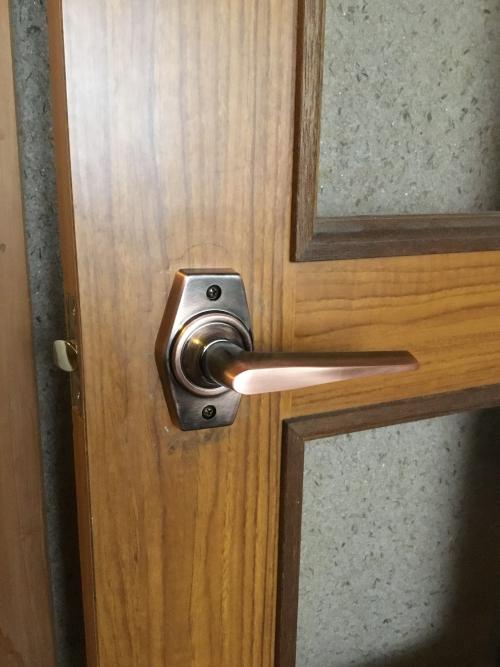 土浦市で室内空錠の交換しました