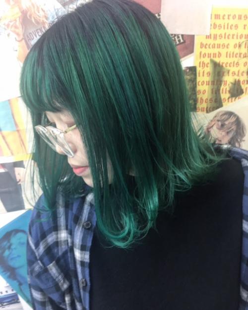 個性派カラーもTLONY渋谷にお任せを!