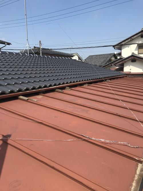 屋根の点検して欲しい