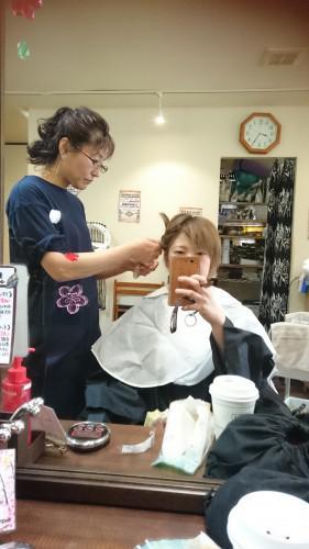 ♡追試合格~明るい白髪染めをいろいろと研究しています~