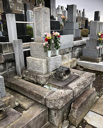 リフォーム墓地完成