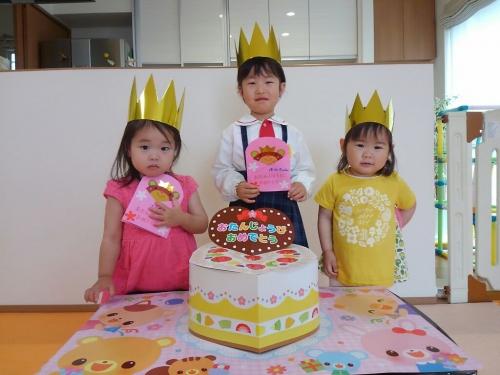 ファミリー託児所☆4月のお誕生日