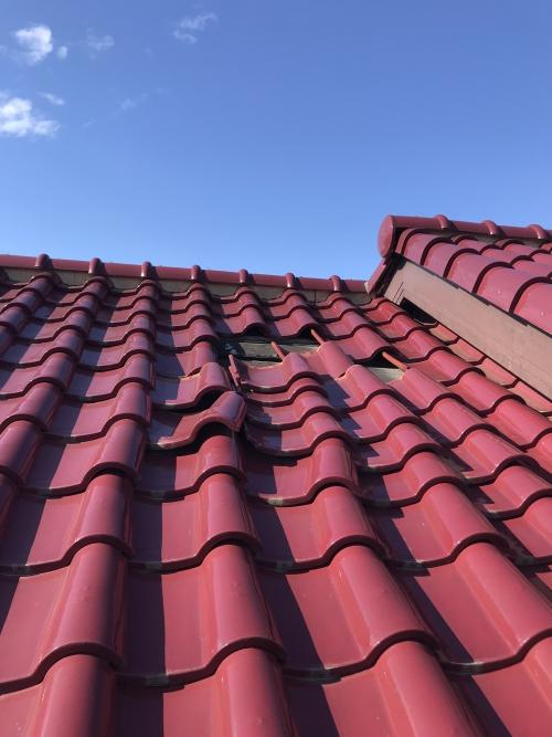 死角の屋根