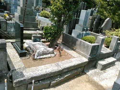 久保山墓地のリフォーム