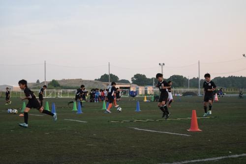 平日サッカースクール開催場所変更のお知らせ