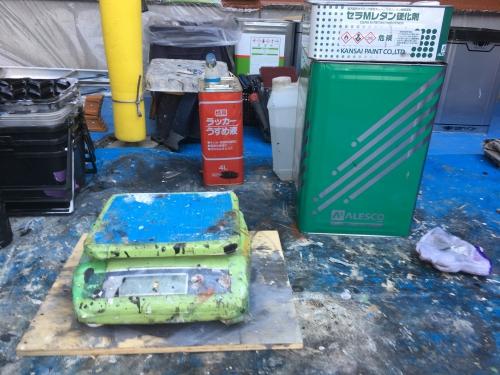 埼玉県白岡市にて外壁塗装工事