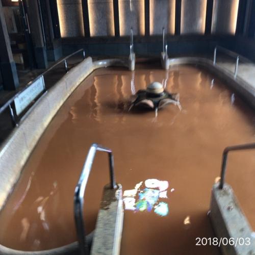 長良川温泉蔵の湯温泉の色