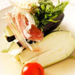 今が旬の大阪岸和田の水茄子サラダ又は1本漬け