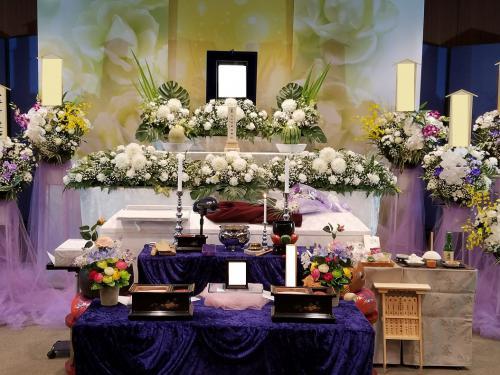 所沢斎場での家族葬