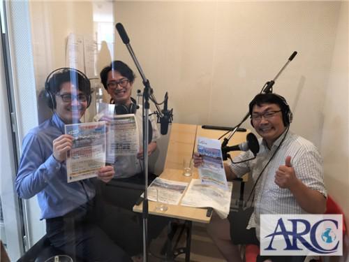7月21日(土)オンエアHBCシンセンラジオステーション収録